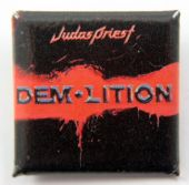 Judas Priest - 'Demolition' Square Badge